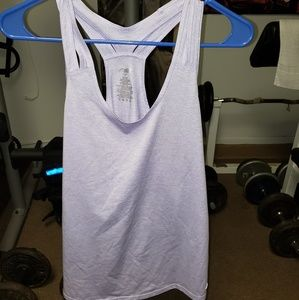 Avia lilac work out tank top